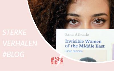 Sana Afouaiz changemaker, author and influential female entrepreneur